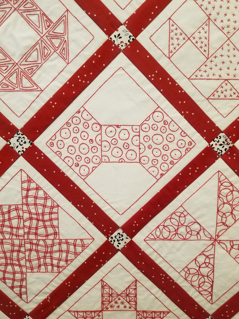Embroidery Redwork BOM