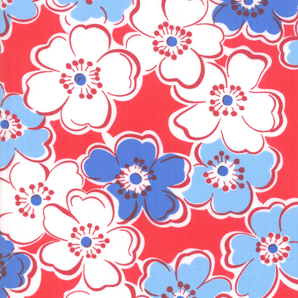 Back Porch Friendship Flower Country Red SKU# 22390 11