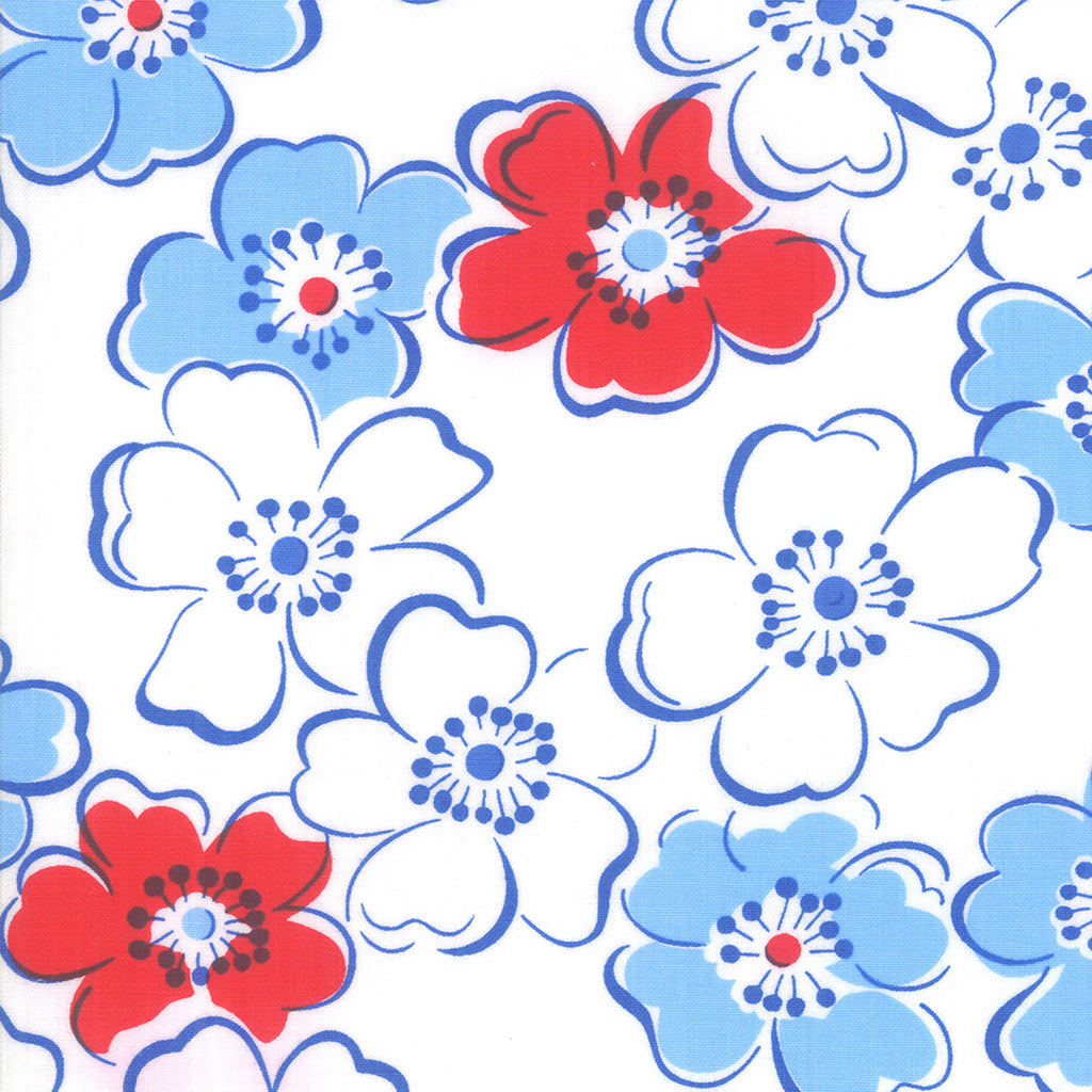 Back Porch Friendship Flower Bright White SKU# 22390 13
