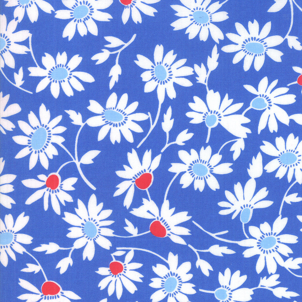 Back Porch Screen Door Blooming Bountiful Blue SKU# 22392 12