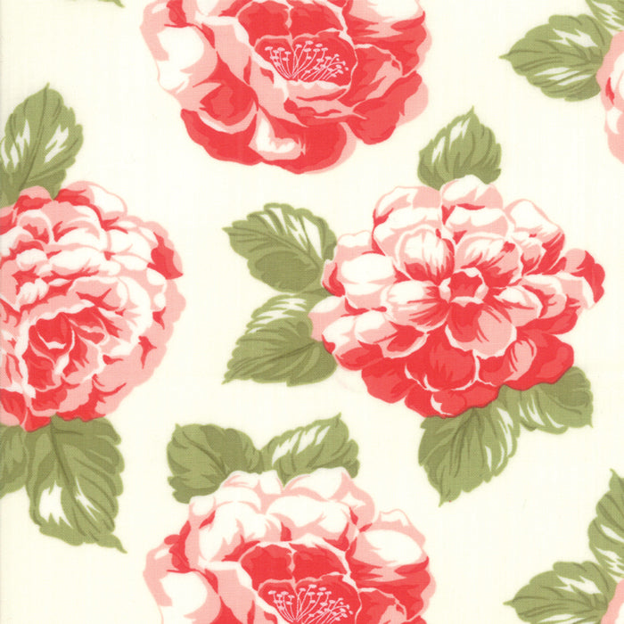 Early Bird Blooms (55190 17) by Bonnie & Camille from Moda - PRICE PER 1/2 YARD