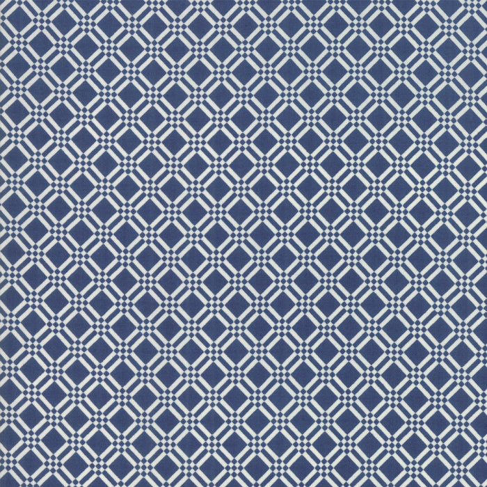 Early Bird Check (55193 15) by Bonnie & Camille from Moda - PRICE PER 1/2 YARD