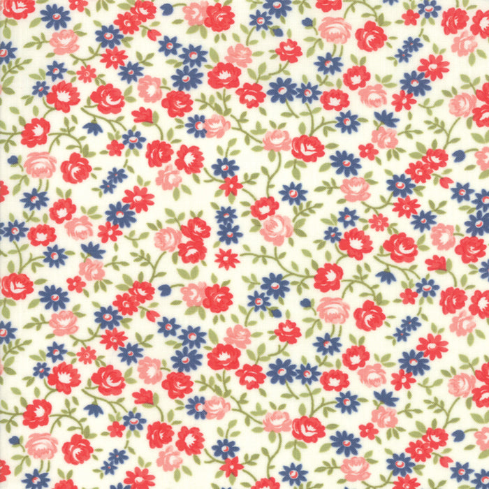 Early Bird Rosie (55194 17) by Bonnie & Camille from Moda - PRICE PER 1/2 YARD