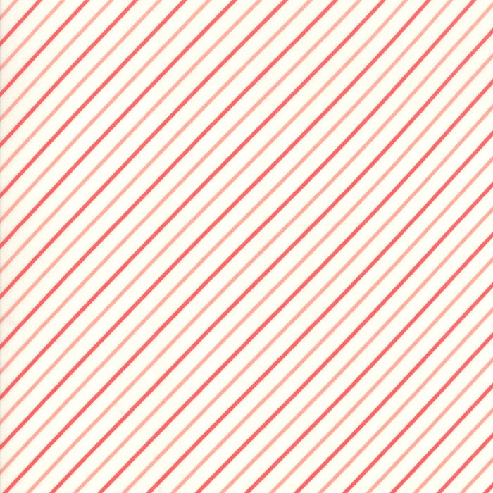 Early Bird Stripe (55196 27) by Bonnie & Camille from Moda - PRICE PER 1/2 YARD