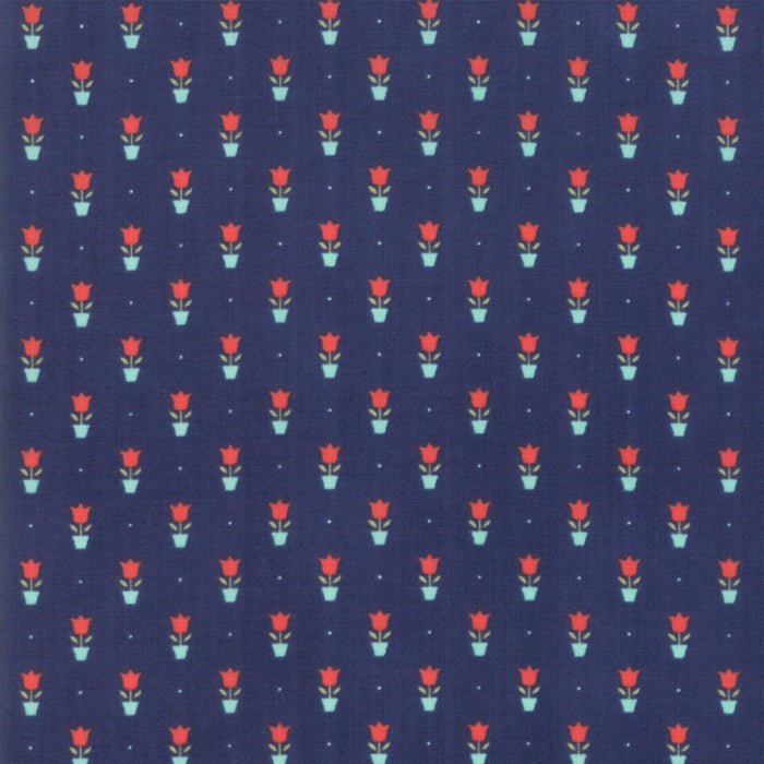 Early Bird Tulips (55197 15) by Bonnie & Camille from Moda - PRICE PER 1/2 YARD