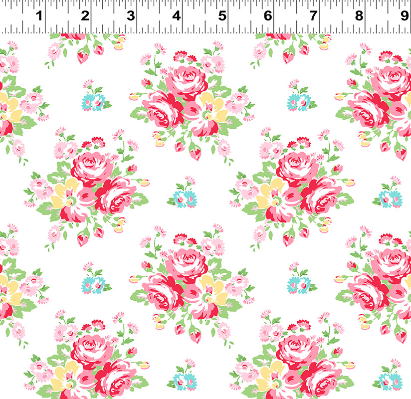 Janey (Y2702-1) by Tanya Whelan from Clothworks - PRICE PER 1/2 YARD