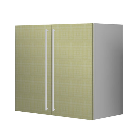 90 Cm. Greenish Upper Unit with Shelf & 2 Doors