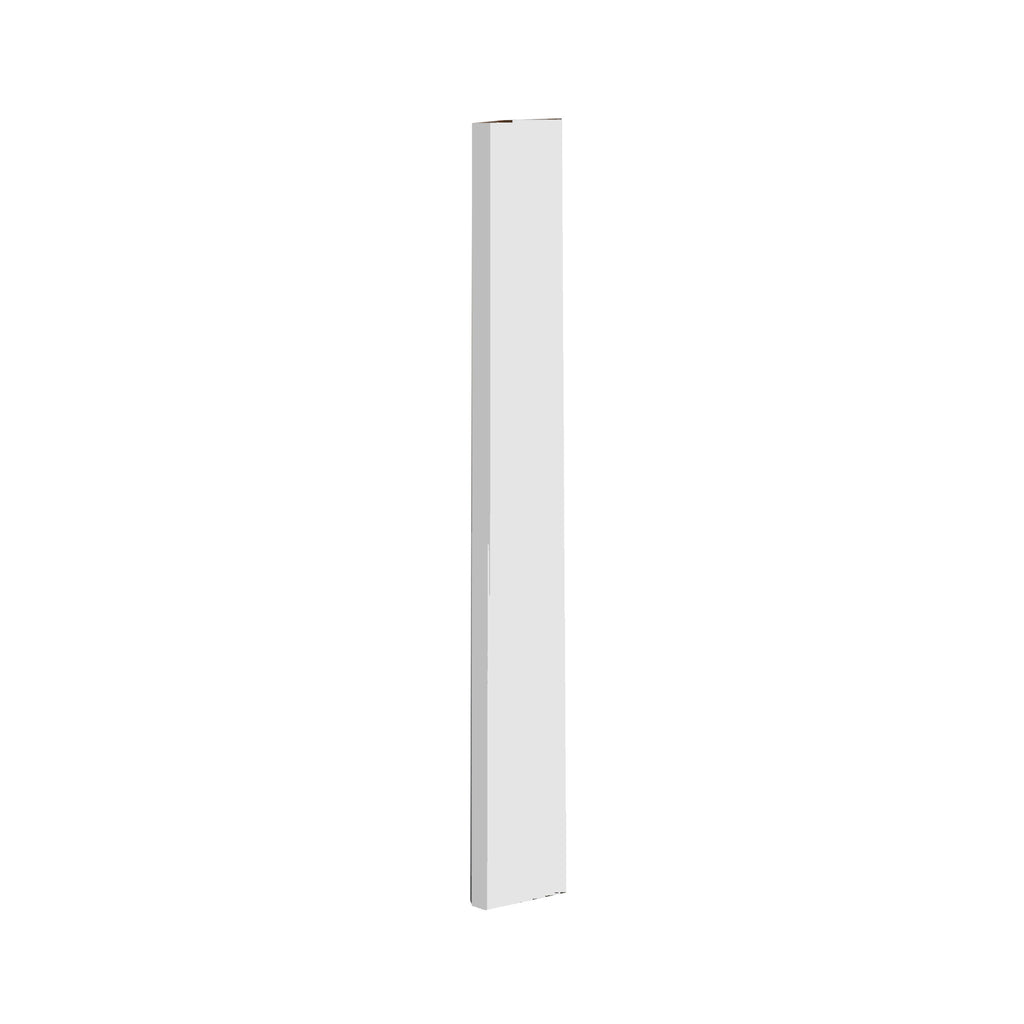 12.5 Cm. White Laminated Base Side