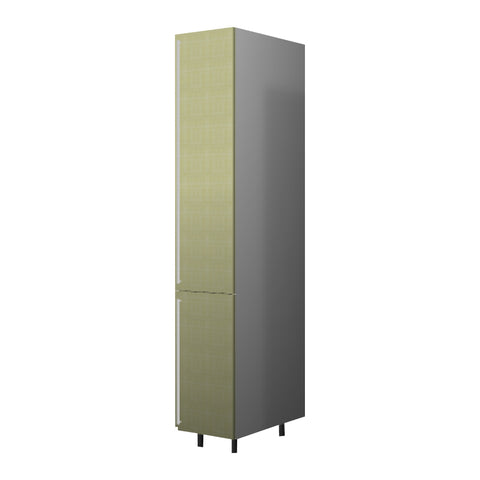 40 Cm. Greenish Tall Unit With Shelves Right