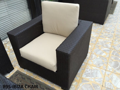 Out Door Ibiza Chair 90*90 Dark Brown