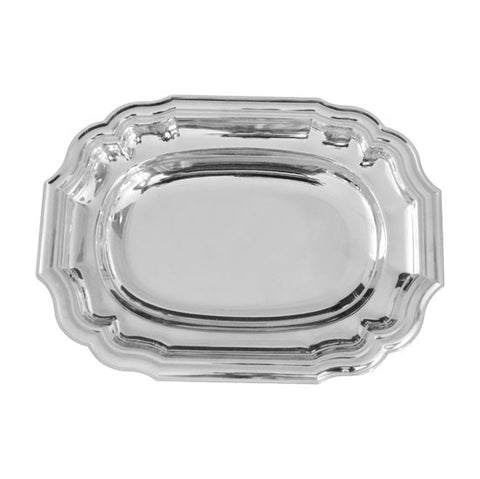 Classico 7 Rectangle Bowl 24 * 20 Cm with Cover Stainless Steel