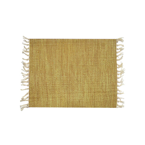 Yellow Wool Placemat 40*30 1 Piece