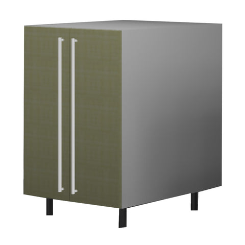 60 Cm. Greenish Kitchen Base Unit With  Shelf & 2 Doors