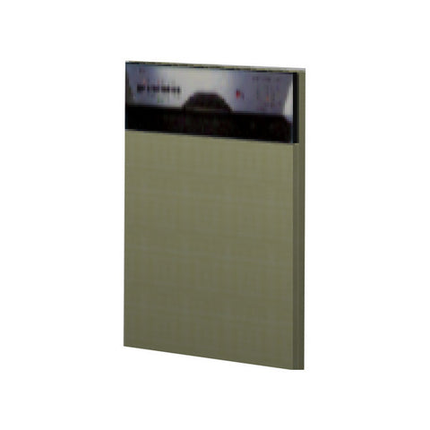 60 Cm. Greenish Door For Dishwasher