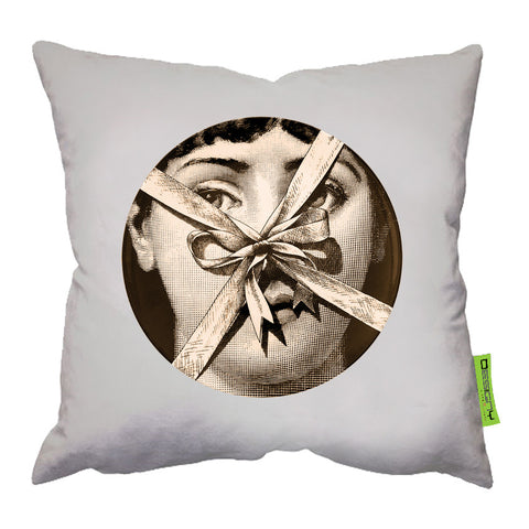 45*45 Cushion Light Beige Fornasetti3
