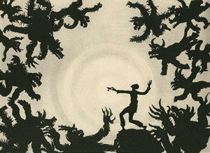 The Adventures of Prince Achmed Foam Poster Size 18*13 Cm.   2/8