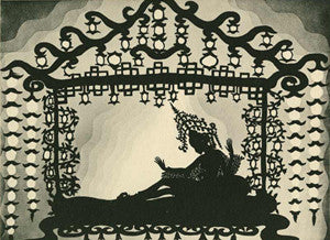 The Adventures of Prince Achmed Foam Poster Size 18*13 Cm.   2/2