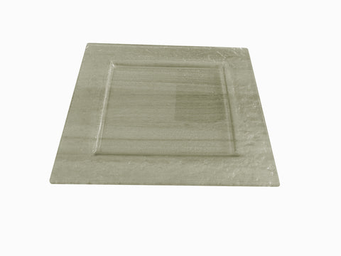 Vitra Square Glass Serving Tray 29 * 29 Cm.