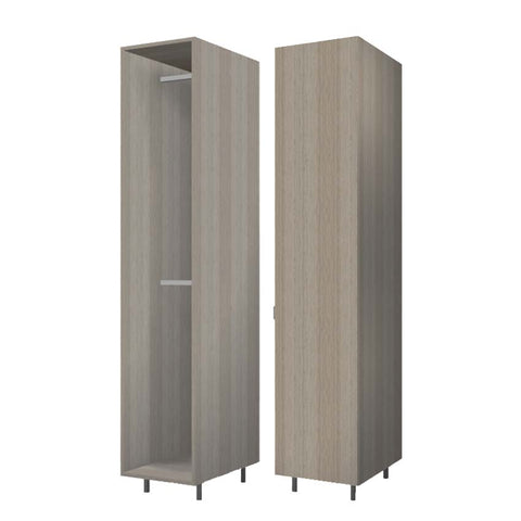 45 Cm. Green Wardrobe (White Interior ) with 2 Hanger Right