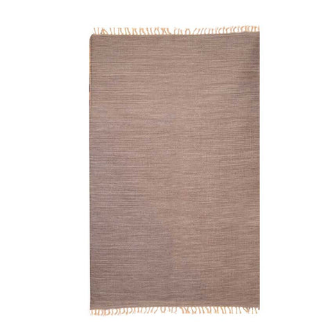 Plaino Coffee Wool Rug