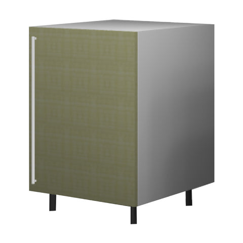 60 Cm. Greenish Base Unit With Shelf Right