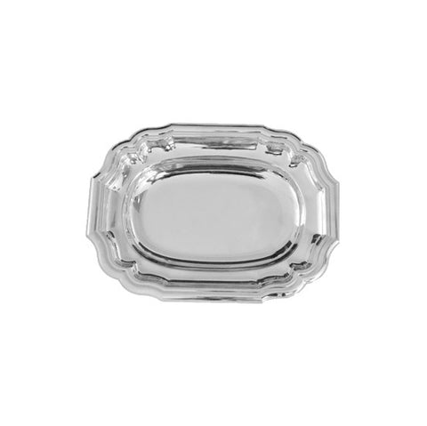 Classico 5 Rectangle serving Tray  38 *28 Stainless Steel