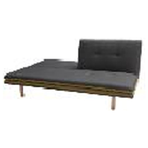 3S-Sofa bed Body Dark Grey - Border Green Sofa Size:192*92*90 Bed Size:192*123*41