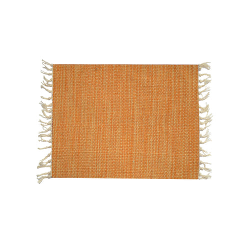 Orange Wool Placemat 40*30 1 Piece