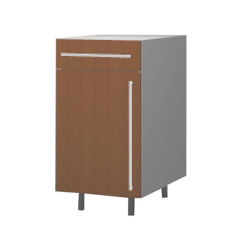 45 Cm. Sand Larch Base Unit With Drawer Left