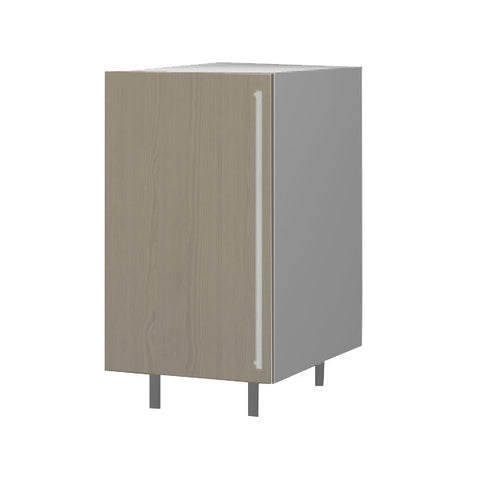 45 Cm. Champagne Avola Base Unit With Shelf Left