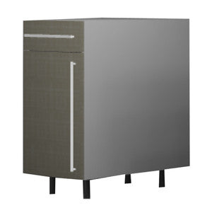 45 Cm. Grey Brown Avola Base Unit With Drawer Left