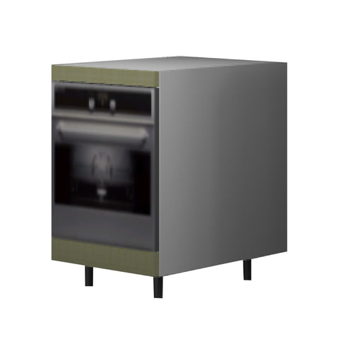 60 Cm. Greenish Base Oven Unit