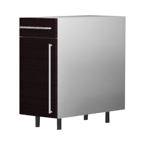 45 Cm. Wengee Mali Base Unit With Drawer & Shelf Left