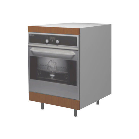60 Cm. Sand Larch Base Oven Unit