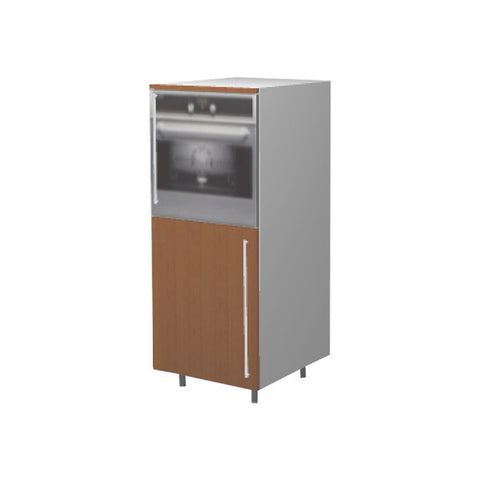 60 Cm. Sand Larch Medium Base Oven Unit Right