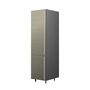 60 Cm. Grey Brown Avola Tall Unit/Fridge Left