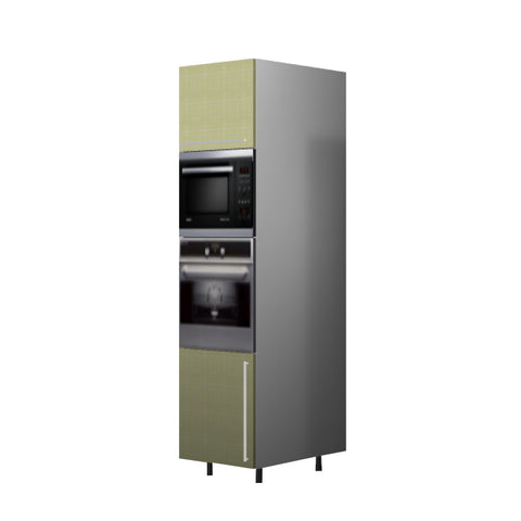60 Cm. Greenish Tall Oven/Microwave Unit Left
