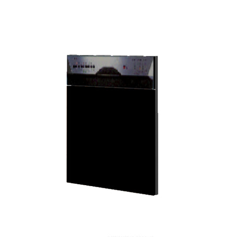 60 Cm. Black High Gloss Door For Dishwasher