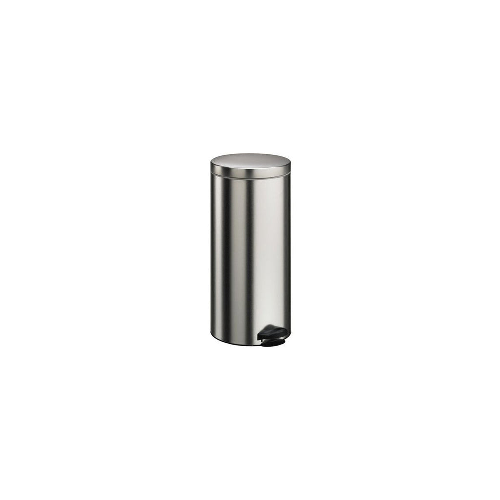30ltr Brushed Steel Pedal Bin