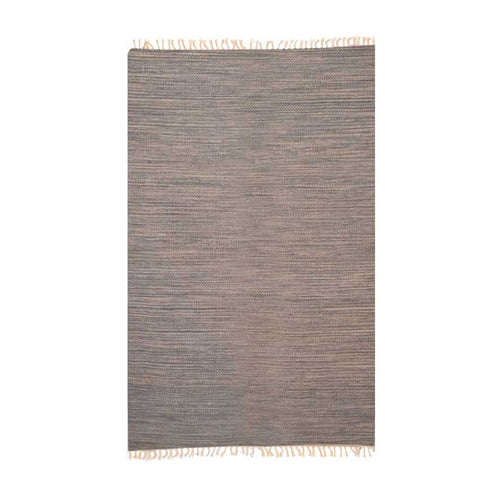 Plaino Grey Wool Rug