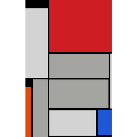 TABLEAU  MONDRIAN Hand - Tufted Wool Carpet