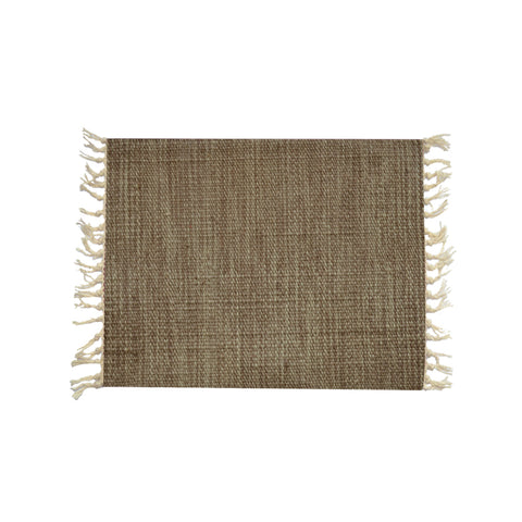 Brown 307 Wool Placemat 40*30 1 Piece