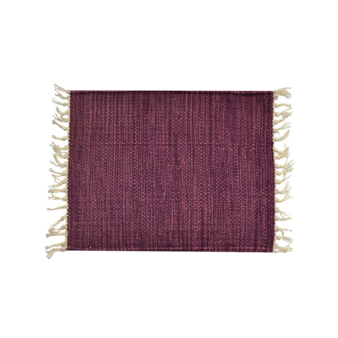 Purple Wool Placemat 40*30 1 Piece