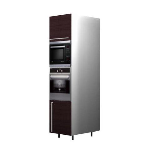 60 Cm. Wengee Mali Tall Oven/Microwave Unit Right