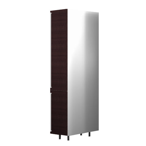 60 Cm. Wengee Mali Tall Unit/Fridge with 2 Doors Right