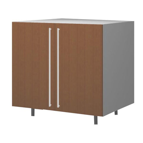 90 Cm. Sand Larch Base Unit With Shelf