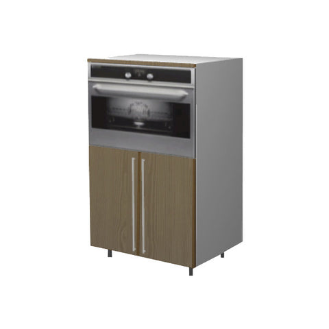 90 Cm. Champagne Avola Medium Base Oven Unit