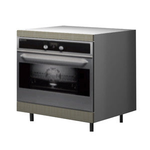 90 Cm. Grey Brown Avola Base Oven Unit