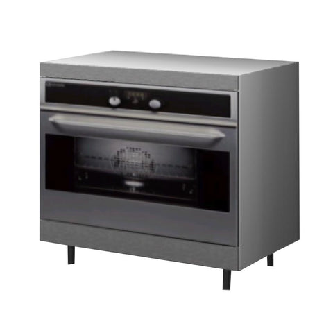 90 Cm. Grey Wave Base Oven Unit