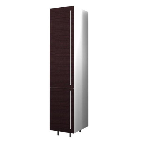 40 Cm. Wengee Mali Tall Unit With Shelves Left